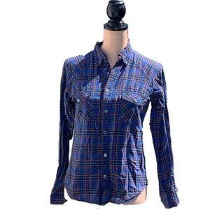 ☀️4/25 Crooks & Castles Long Sleeve Plaid Shirt